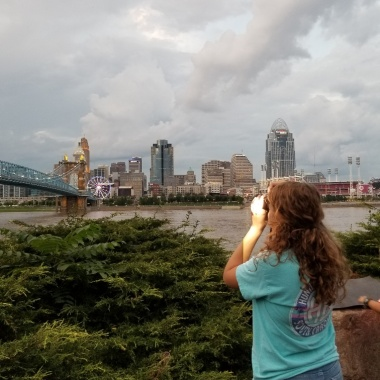 Taking pics of the skyline