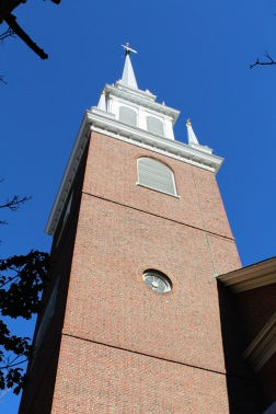 Old North Church (one if by land, two if by sea...)