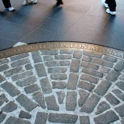 The site of the Boston Massacre
