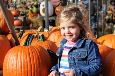 Our cute little cousin, Hannah