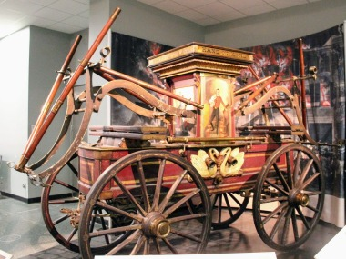 One of America's Earlier Fire Engines